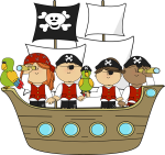 "ILEAP River ""Pirate Party""<br>Cruise and Park Life<br>8+ yrs"